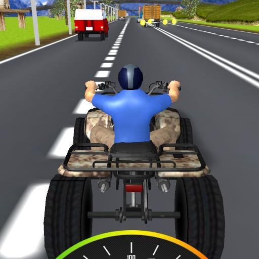 Trafikte Atv Sürüşü