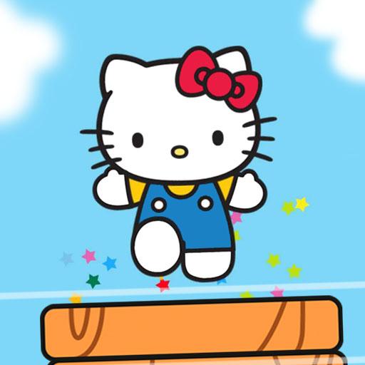 Zıplayan Hello Kitty