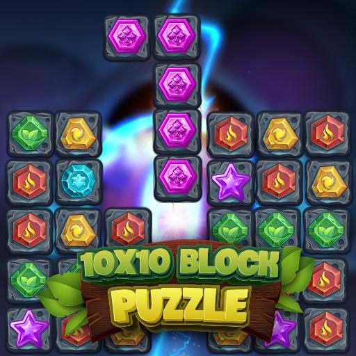 10X10 Blok Yapbozu
