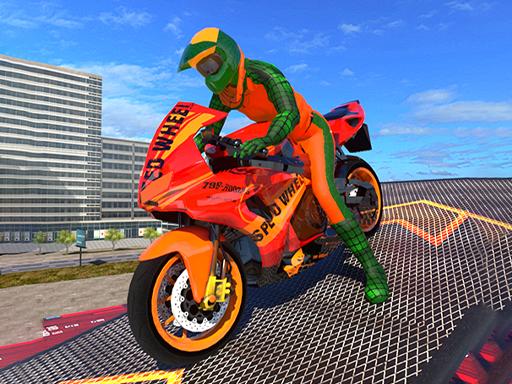 3D Motosiklet Parkuru