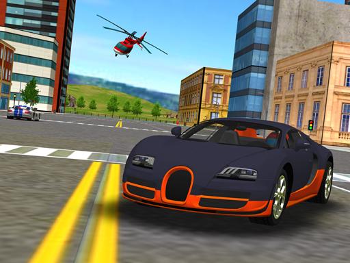 Süper Araba Simülasyonu