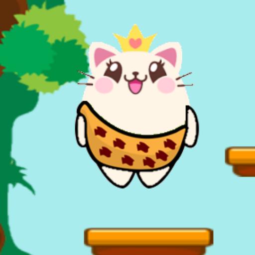 Zıplayan Tatlı Kedi