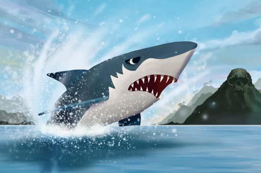 Köpek Balığı Şovu